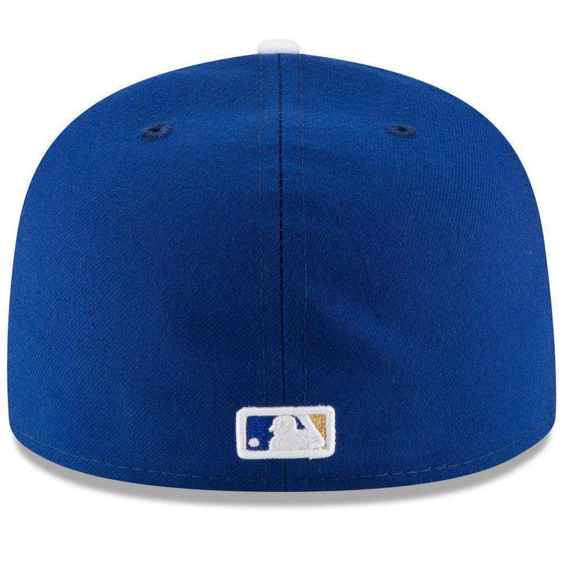 Kansas City Royals New Era MLB AC On-Field 59FIFTY Fitted Hat - Blue