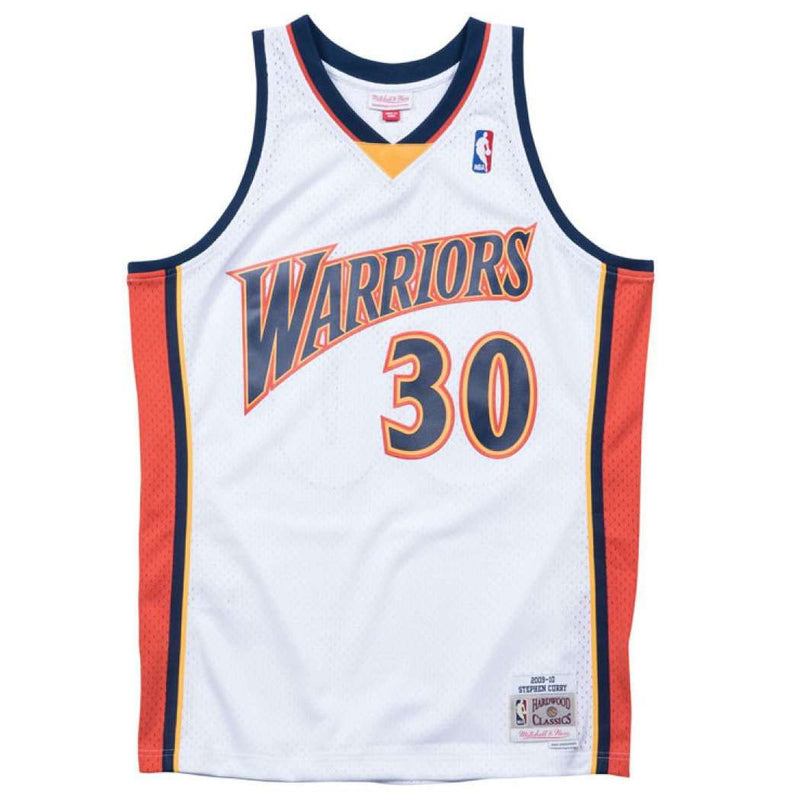 Steph Curry Golden State Warriors Mitchell & Ness NBA Swingman Jersey - White