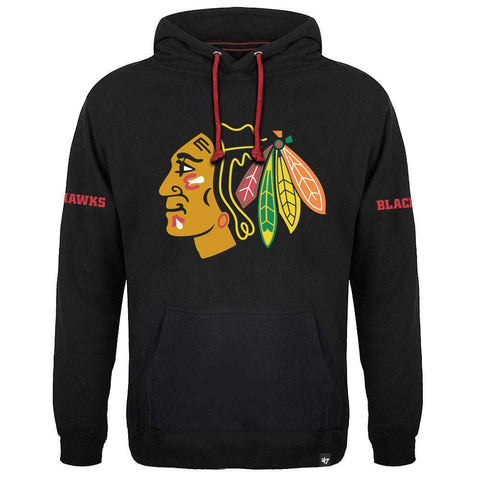 Chicago Blackhawks '47 NHL Sure Shot Scrimmage Hoodie Jumper - Black