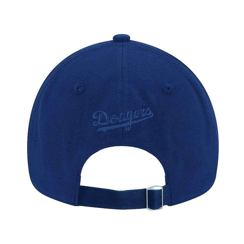 Womens Los Angeles Dodgers New Era MLB Team 9FORTY Curve Hat - Blue