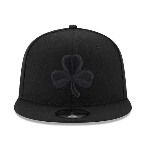 Boston Celtics New Era NBA Alt Black On Black 9FIFTY Snapback Hat