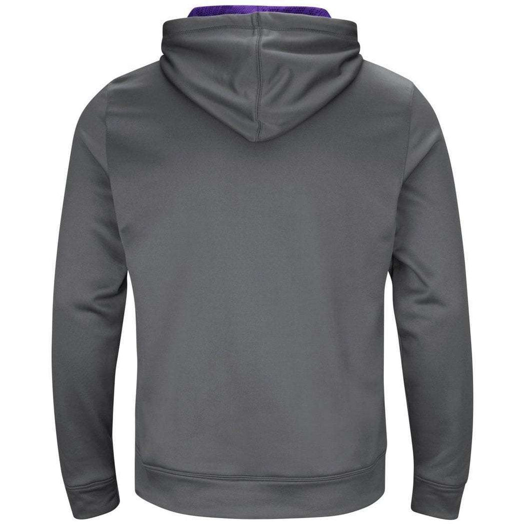 new arrival f2195 214f9 Minnesota Vikings Majestic NFL Armor Performance Hoodie Jumper - Grey