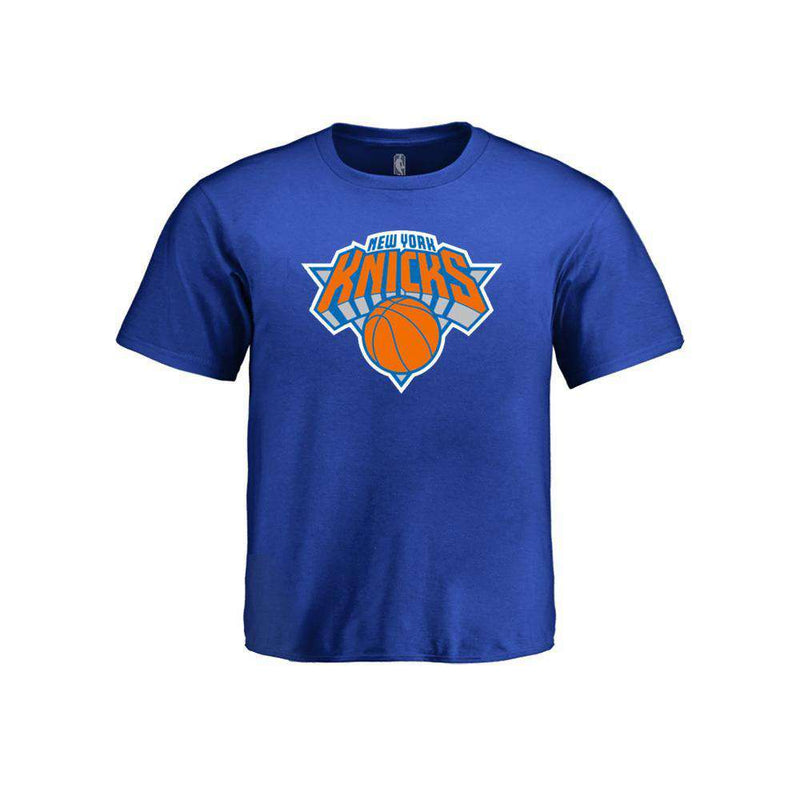 Kids New York Knicks Outerstuff NBA Logo T-Shirt - Blue
