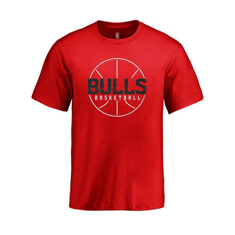Youths Chicago Bulls Outerstuff Ultra NBA Logo T-Shirt - Red