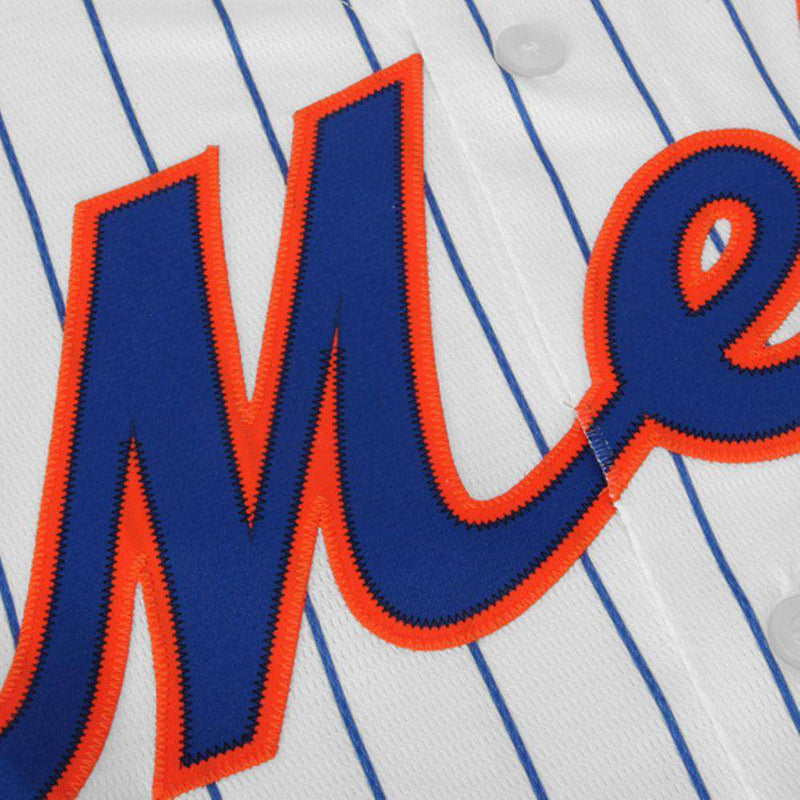 New York Mets Majestic MLB AC Cool Base Replica Jersey - White