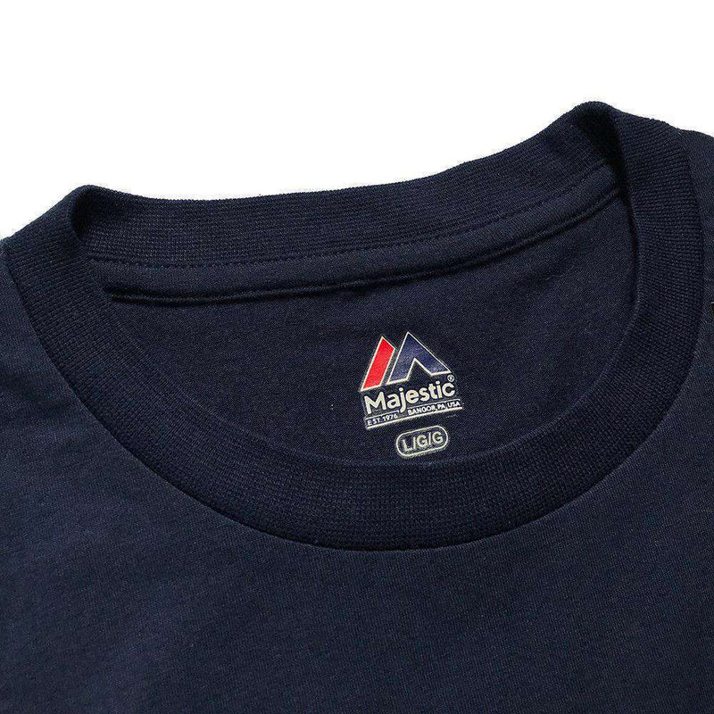 New England Patriots Majestic NFL Critical Victory T-Shirt - Navy