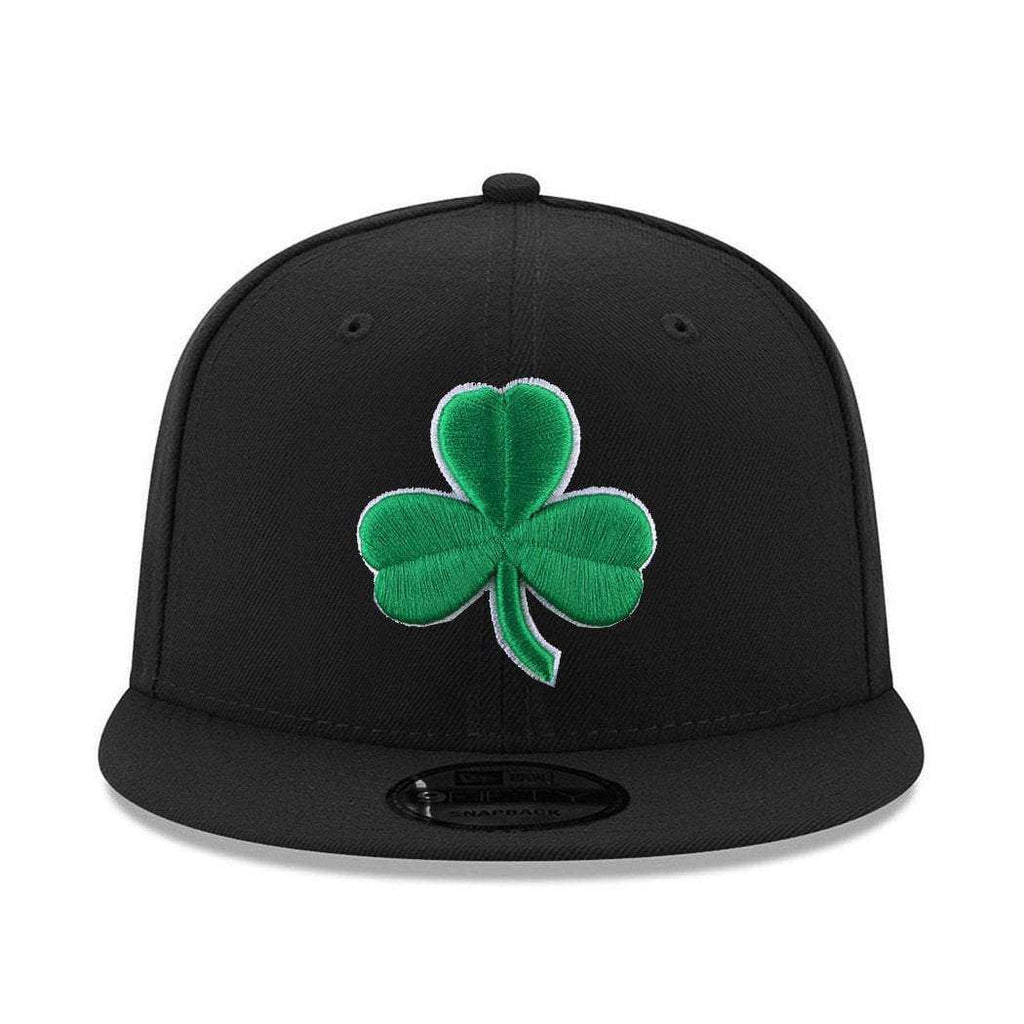 e19acb83 Boston Celtics New Era NBA Alt Logo 9FIFTY Snapback Hat - Black | US ...