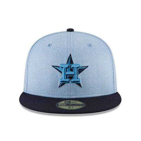 Houston Astros New Era MLB 2018 Fathers Day AC On-Field 59FIFTY Fitted Hat - Blue