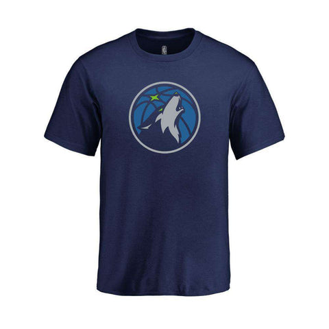 Youths Minnesota Timberwolves Outerstuff NBA Logo T-Shirt - Navy