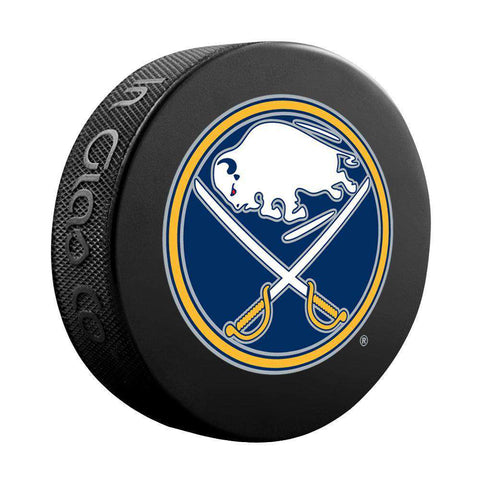 Buffalo Sabres Sher-Wood NHL Logo Souvenir Hockey Puck