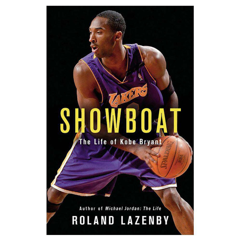 Showboat: The Life of Kobe Bryant Los Angeles Lakers NBA Paperback Book