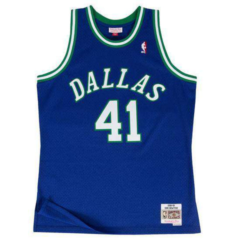 Dirk Nowitzki Dallas Mavericks Mitchell & Ness NBA Swingman Jersey - Blue
