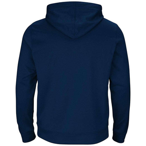 New England Patriots Majestic NFL Armor Performance Hoodie Jumper - Navy