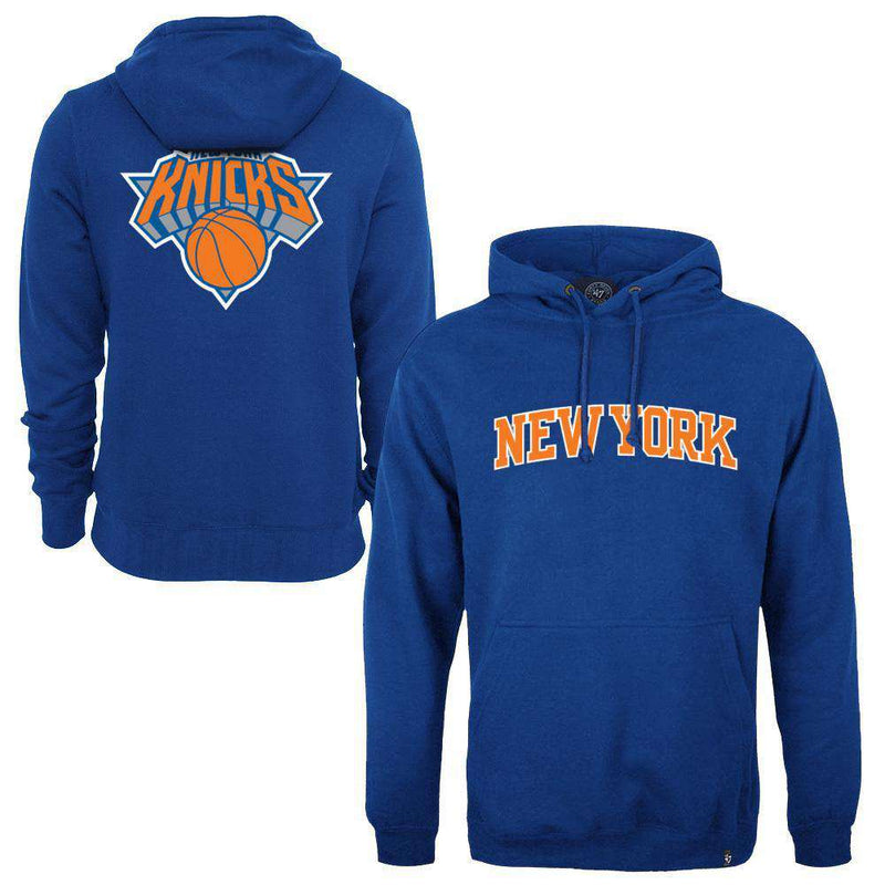 New York Knicks '47 NBA MVP Headline Hoodie Jumper - Blue