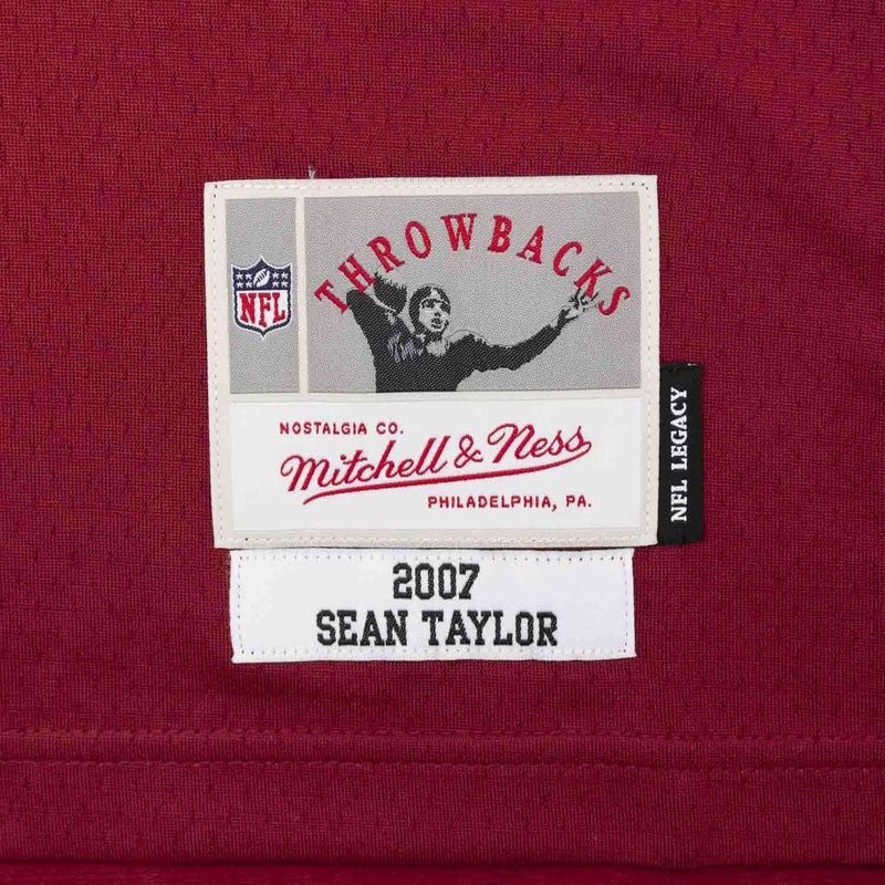Sean Taylor Washington Redskins Mitchell & Ness NFL Legacy Jersey - Burgundy