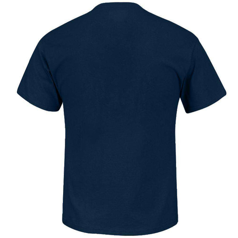 Cleveland Indians Majestic MLB Authentic Team Drive T-Shirt - Navy