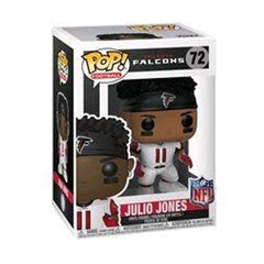 "Julio Jones Atlanta Falcons NFL Funko Pop Vinyl 3.75"" Figure - White"