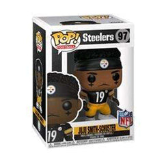 "Juju Smith-Schuster Pittsburgh Steelers NFL Funko Pop Vinyl 3.75"" Figure - Black"