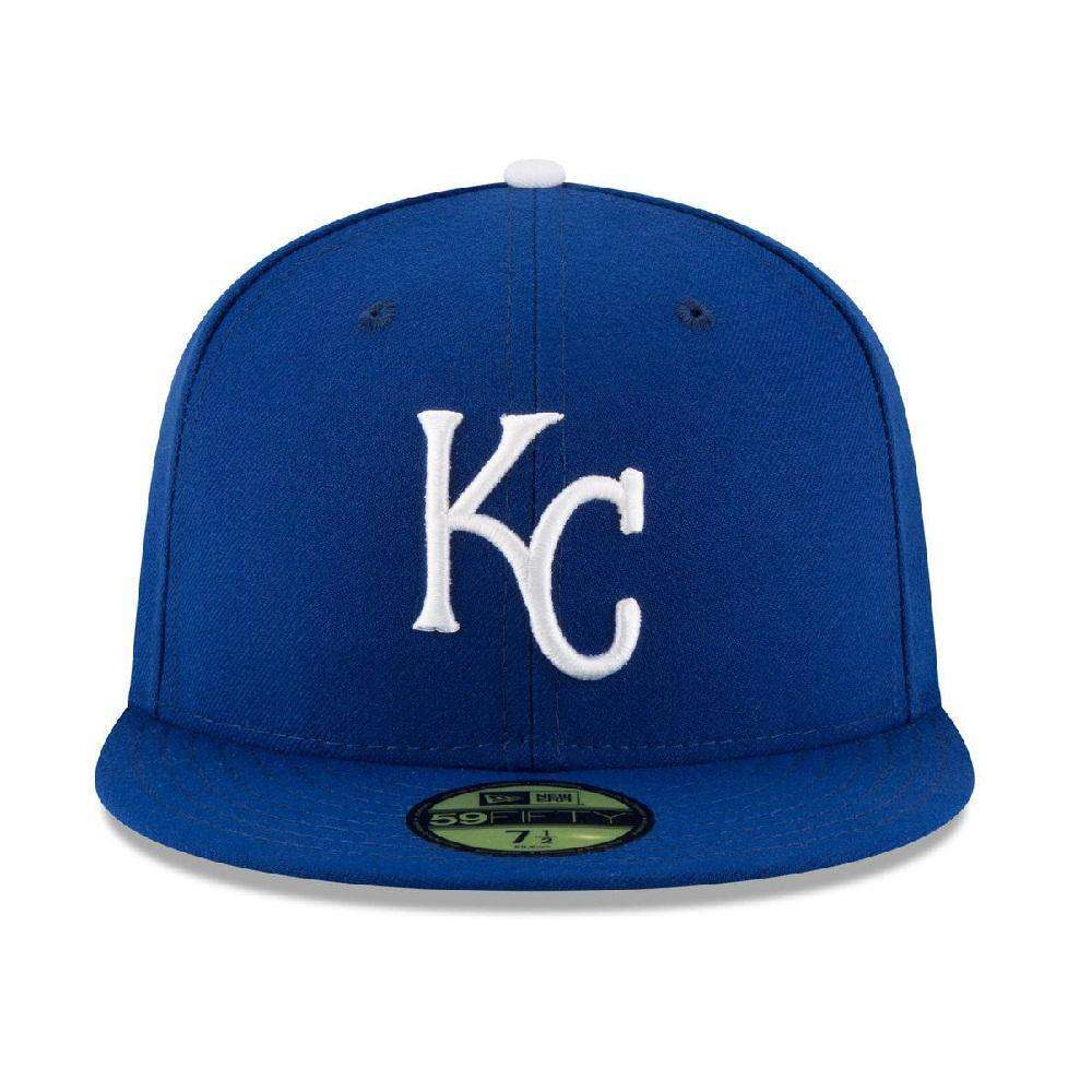italy kansas city royals new era mlb ac on field 59fifty fitted hat blue  260e7 a4410 5d82b4c23669