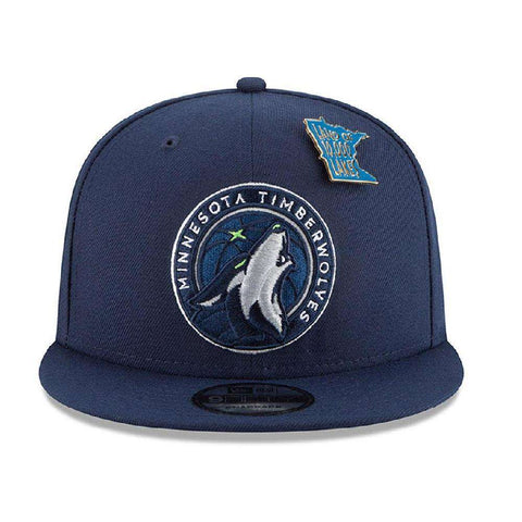 Minnesota Timberwolves New Era NBA 2018 NBA Draft 9FIFTY Snapback Hat - Navy