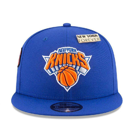 New York Knicks New Era NBA 2018 NBA Draft 9FIFTY Snapback Hat - Blue