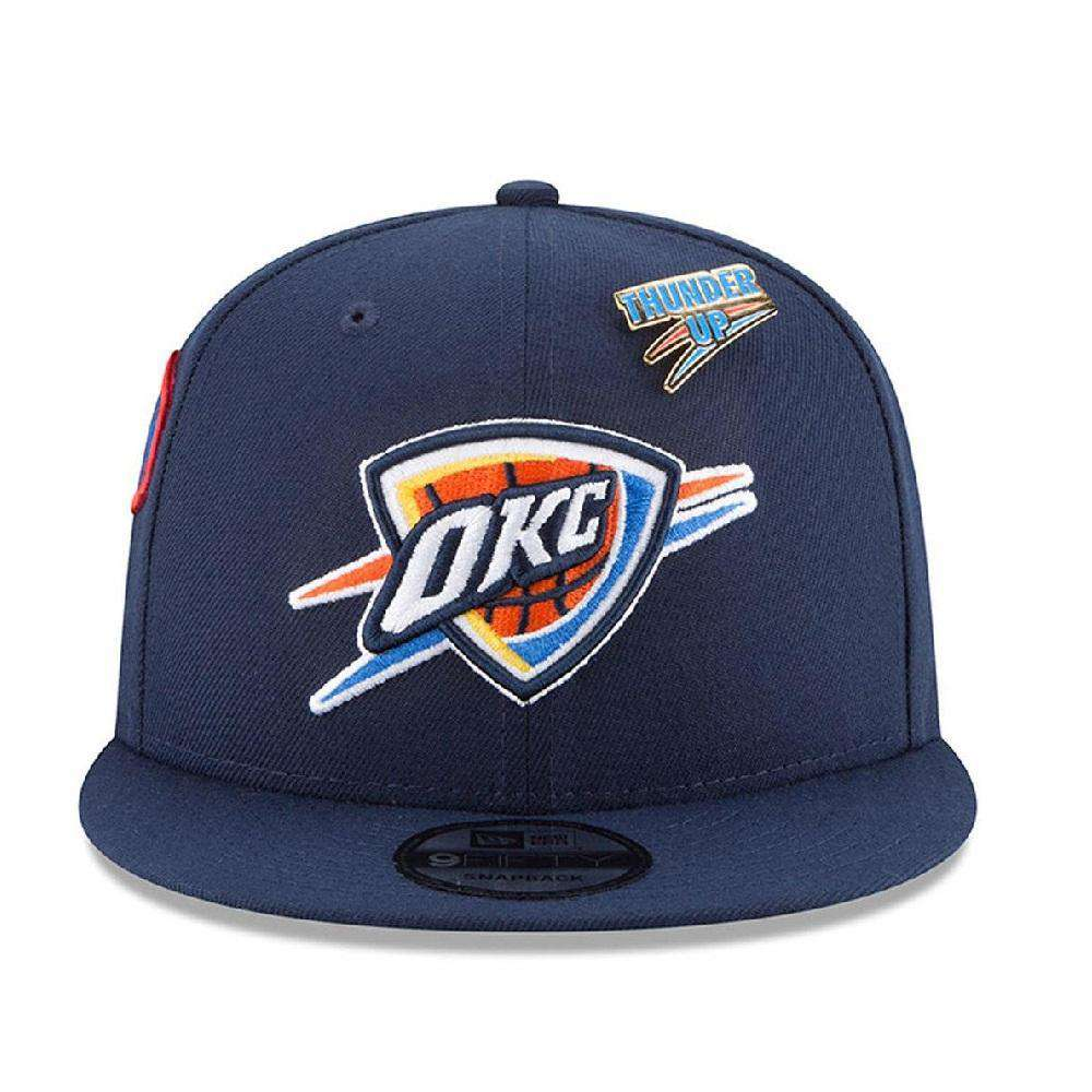 202931aca90 Oklahoma City Thunder New Era NBA 2018 NBA Draft 9FIFTY Snapback Hat - Navy