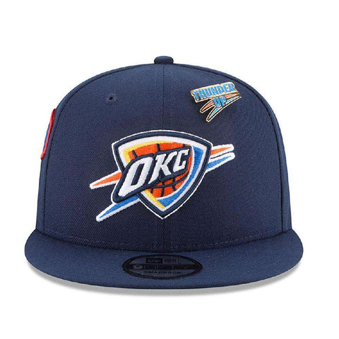 Oklahoma City Thunder New Era NBA 2018 NBA Draft 9FIFTY Snapback Hat - Navy
