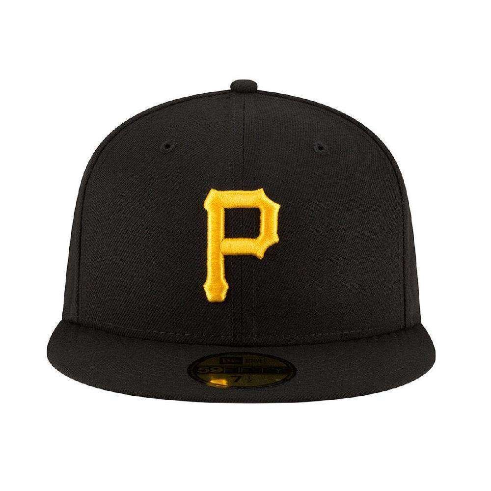 bc5d8f36c223e ... discount code for greece pittsburgh pirates new era mlb ac on field  59fifty fitted hat black