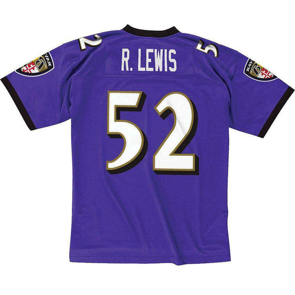 Ray Lewis Baltimore Ravens Mitchell   Ness NFL Legacy Jersey - Purple  fed4f8d37