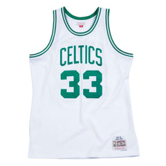Larry Bird Boston Celtics Mitchell & Ness NBA Swingman Jersey - White