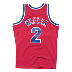 Chris Webber Washington Bullets Mitchell & Ness NBA Swingman Jersey - Red