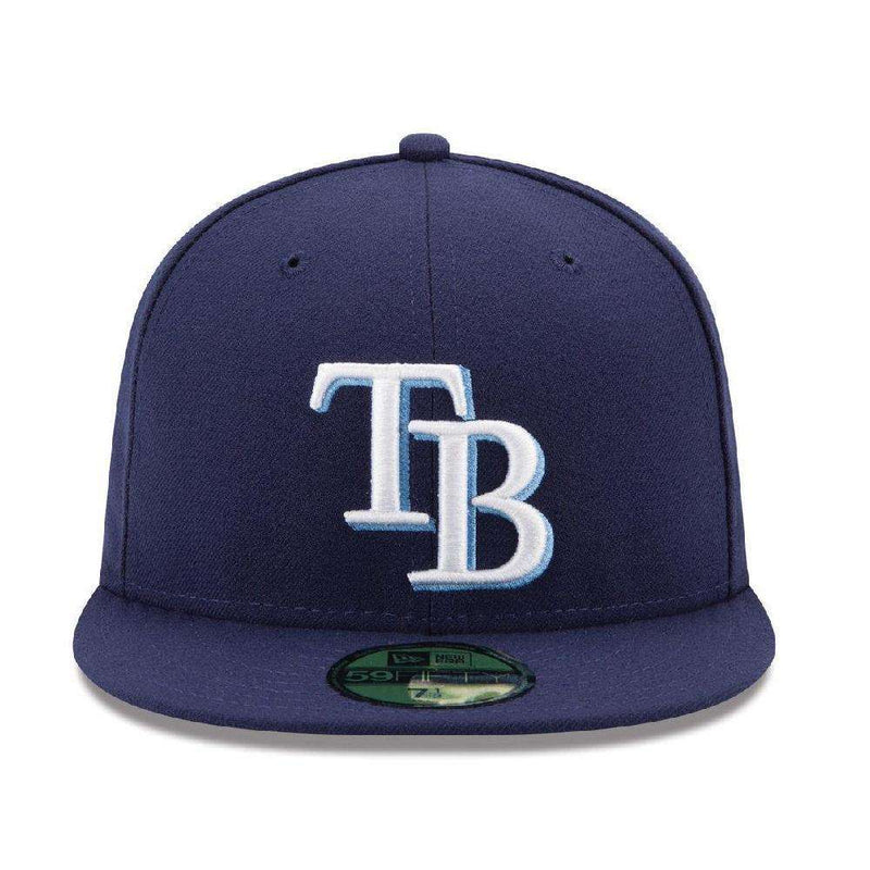 Tampa Bay Rays New Era MLB AC On-Field 59FIFTY Fitted Hat - Navy