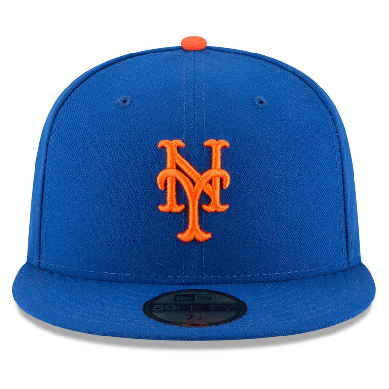 New York Mets New Era MLB AC On-Field Game 59FIFTY Fitted Hat - Blue
