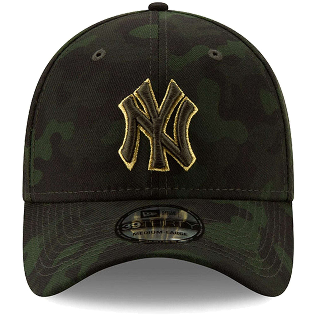 e09364b74 New York Yankees New Era MLB 2019 Armed Forces 39THIRTY Stretch Fit Curved  Hat - Camo