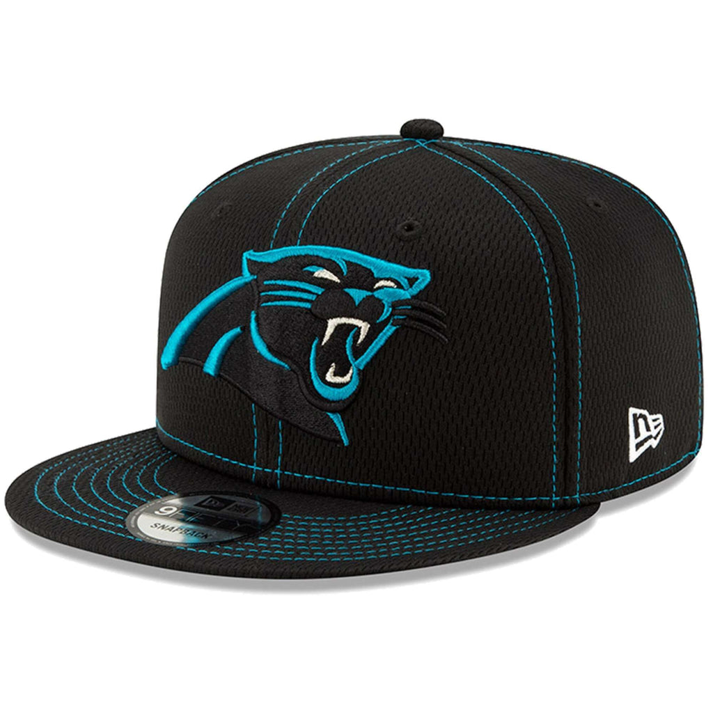 fe67f8e5e Carolina Panthers New Era NFL 2019 Sideline Road 9FIFTY Snapback Hat - Black