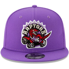 Toronto Raptors New Era NBA Hardwood Classics Nights 9FIFTY Snapback Hat - Purple