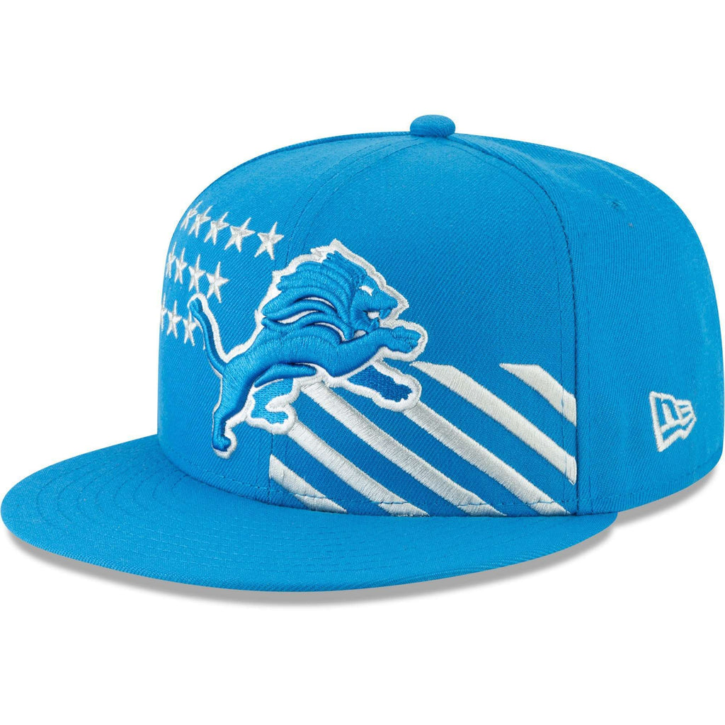 premium selection bf461 233db Detroit Lions New Era 2019 NFL Draft 9FIFTY Snapback Hat – Blue
