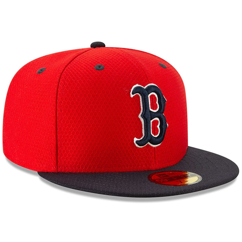 Boston Red Sox New Era MLB 2019 Spring Training BP 59FIFTY Fitted Hat - Red