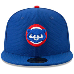 Chicago Cubs New Era MLB 2019 Spring Training BP 59FIFTY Fitted Hat - Blue