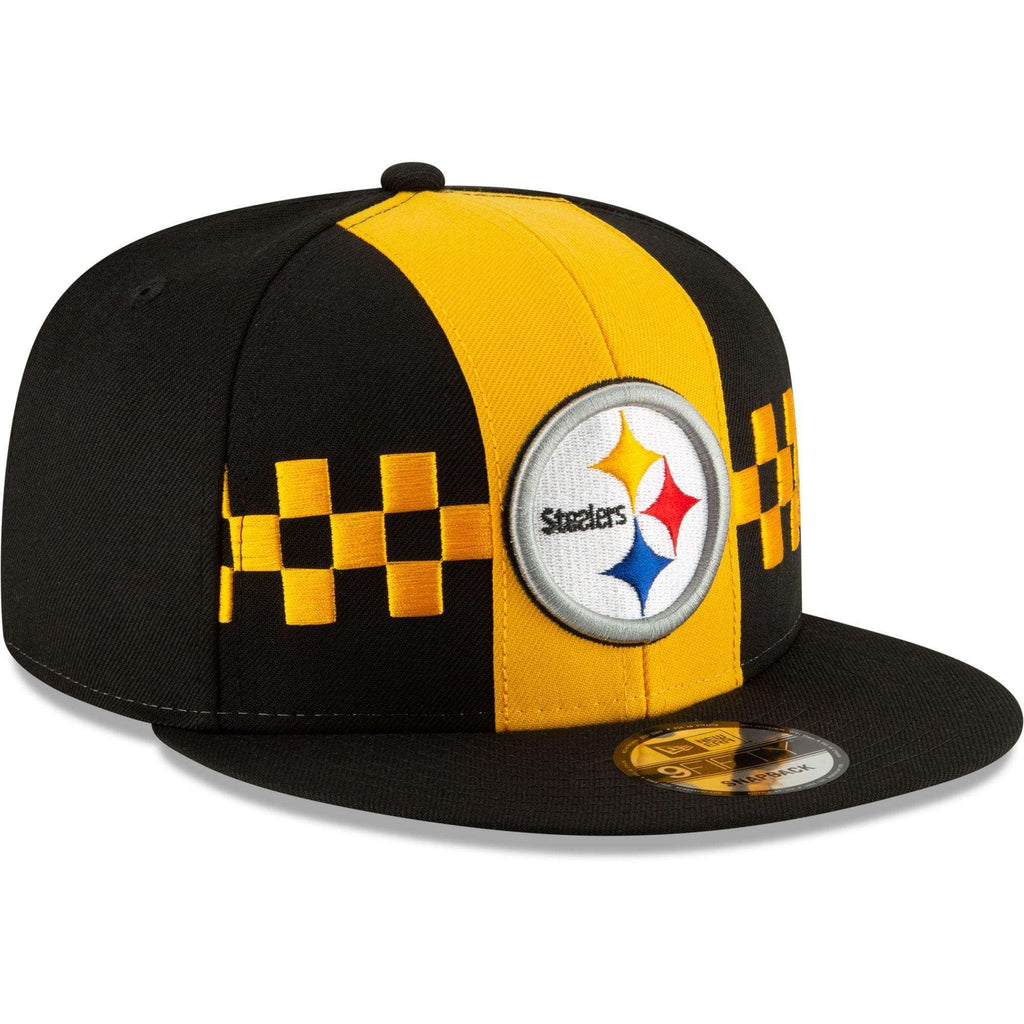 low priced bbb83 03ff6 Pittsburgh Steelers New Era 2019 NFL Draft 9FIFTY Snapback Hat – Black