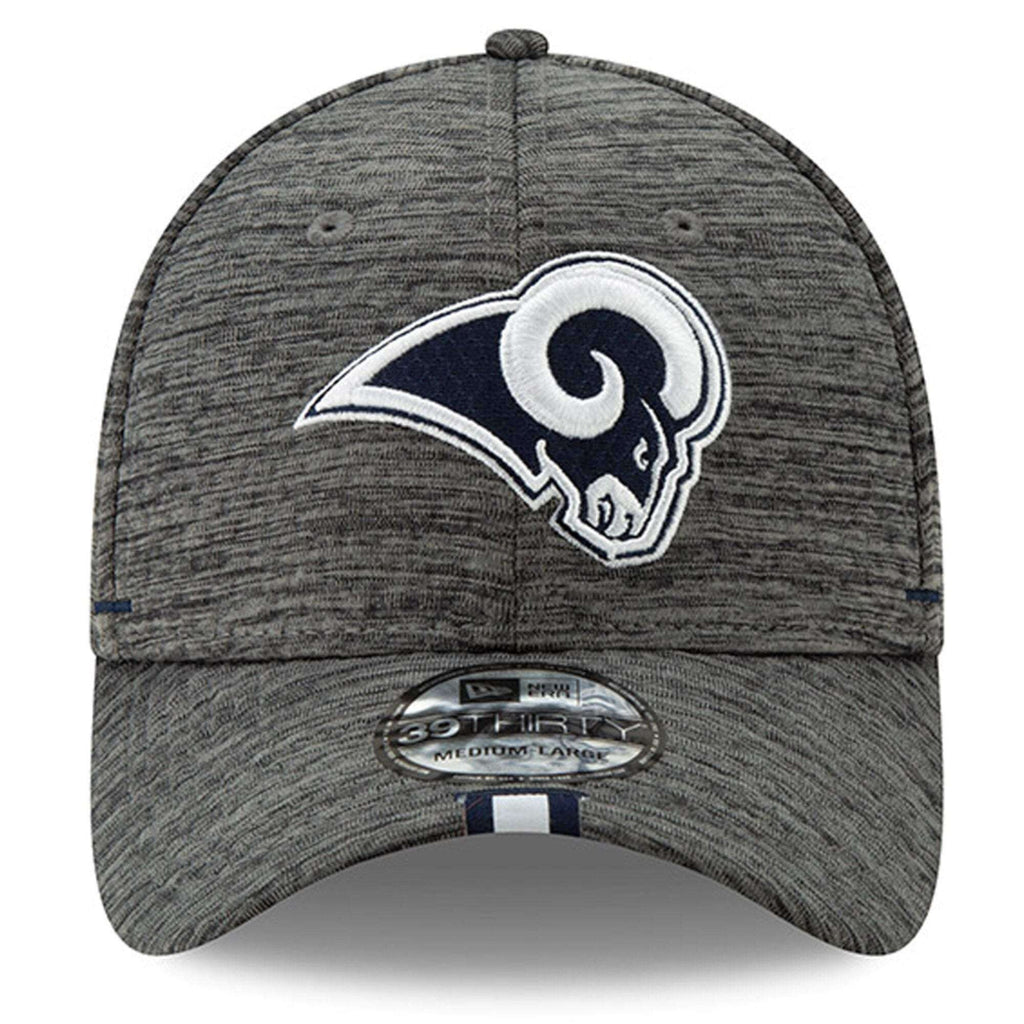 brand new 33eba f5a67 Los Angeles Rams New Era 2019 NFL Training Camp 39THIRTY Stretch-Fit Hat -  Graphite