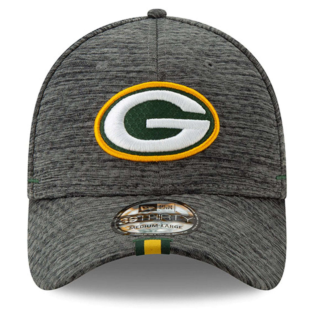 dcc570853 Green Bay Packers New Era 2019 NFL Training Camp 39THIRTY Stretch-Fit Hat -  Graphite
