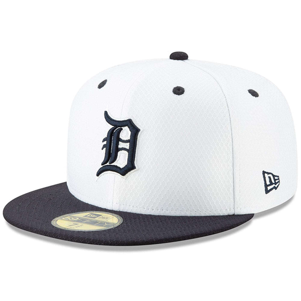 b634e5eb30e Detroit Tigers New Era MLB 2019 Spring Training BP 59FIFTY Fitted Hat -  White