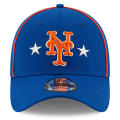 New York Mets New Era MLB 2019 All Star 39THIRTY Stretch-Fit Curve Hat - Blue