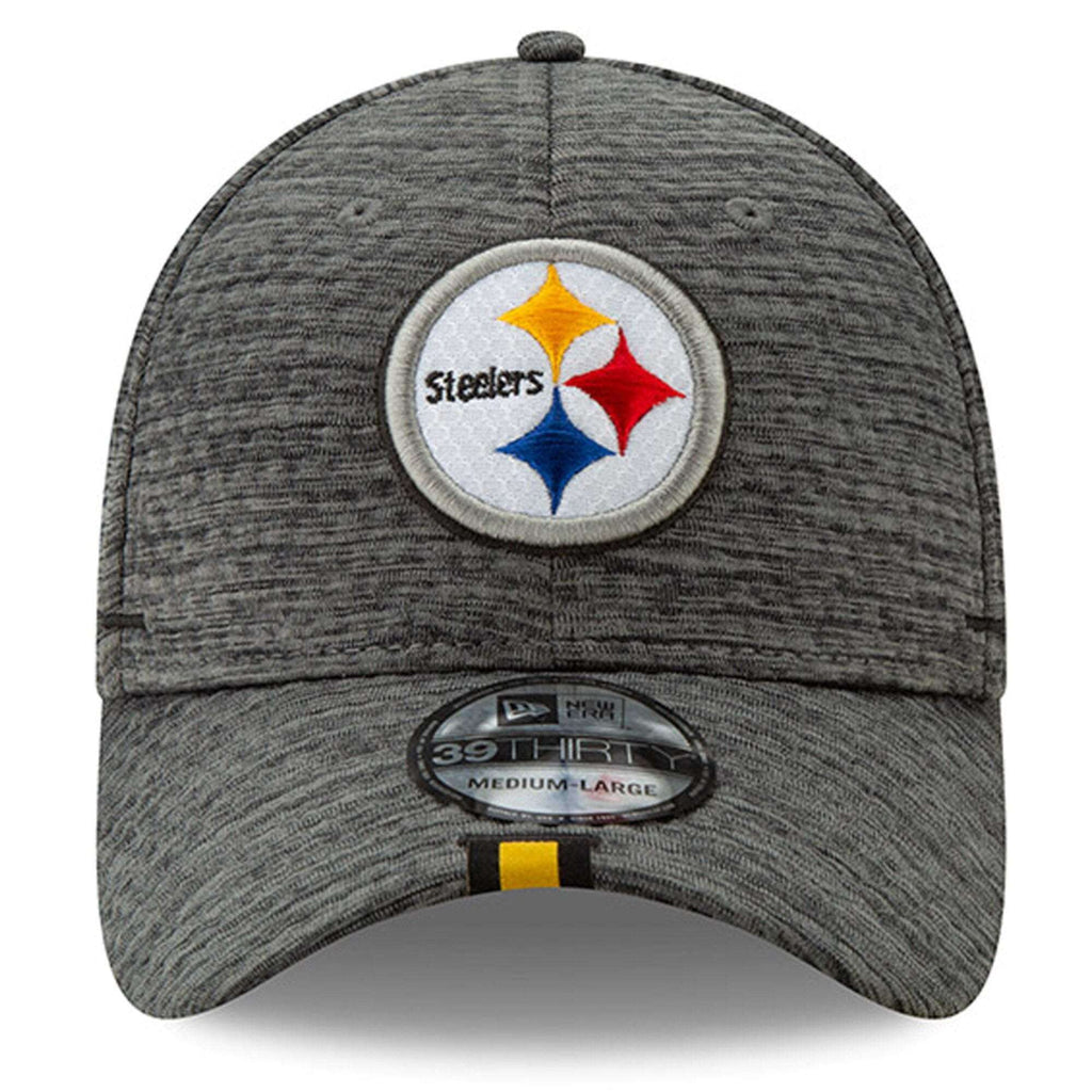super popular d28d3 84836 Pittsburgh Steelers New Era 2019 NFL Training Camp 39THIRTY Stretch-Fit Hat  - Graphite