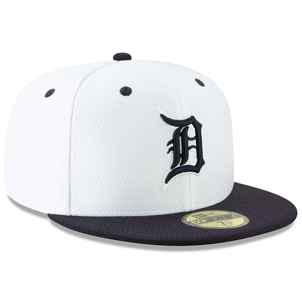 e97c695f Detroit Tigers New Era MLB 2019 Spring Training BP 59FIFTY Fitted Hat -  White