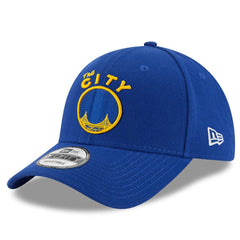 Golden State Warriors New Era NBA Hardwood Classics Nights 9FORTY Curved Hat - Blue