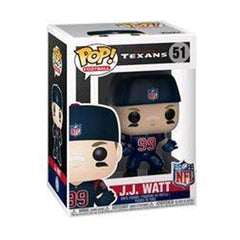"JJ Watt Houston Texans NFL Funko Pop Vinyl 3.75"" Figure - Colour Rush"