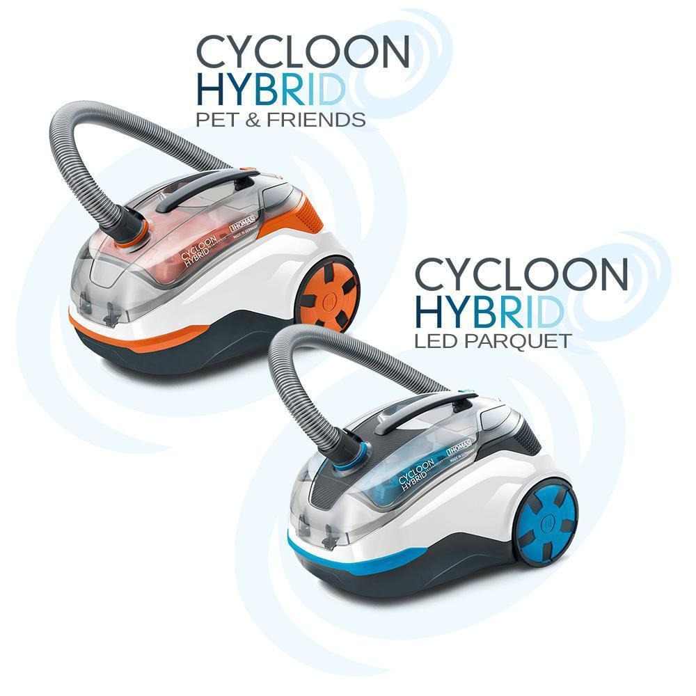 Cycloon Hybrid Vacuum Cleaners From Thomas
