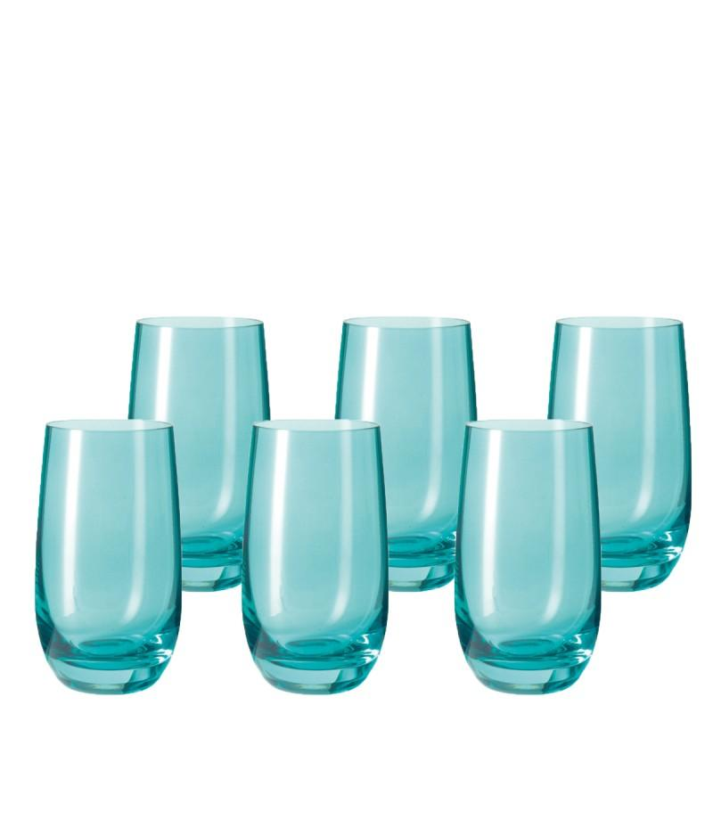 Leonardo Tall Drinking Glass Lagoon - Blue SORA